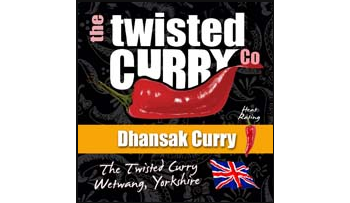 The Twisted Curry- Dhansak Curry