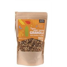 Organic Yorkshire Honey Toasted Granola with Nuts 500g