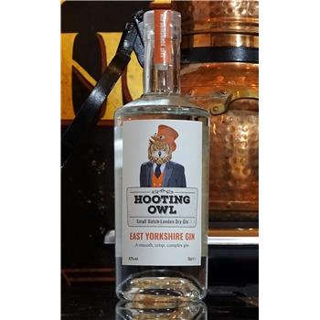 Hooting Owl East Yorkshire Gin 70cl