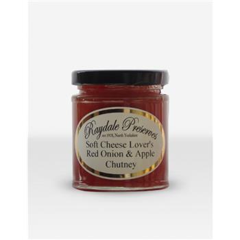 Raydale Soft Cheese Lovers Red Onion & Apple Chutney
