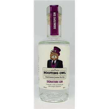 Hooting Owl Signature Gin 20cl