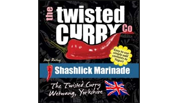 The Twisted Curry- Sashlick Marinade