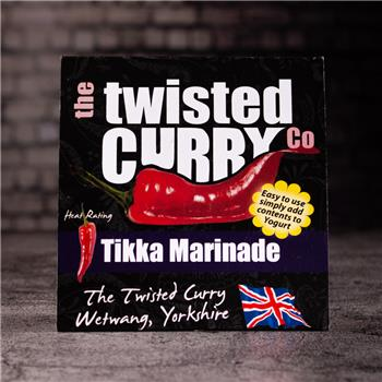 The Twisted Curry- Tikka Marinade