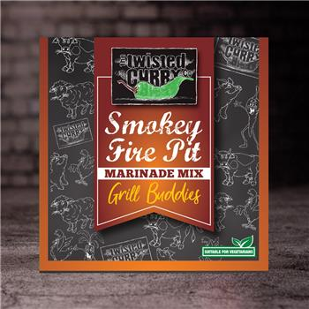 The Twisted Curry - Marinade Mix Smokey Fire pit