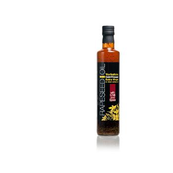 Yorkshire Rapeseed Oil With Chilli & Spice