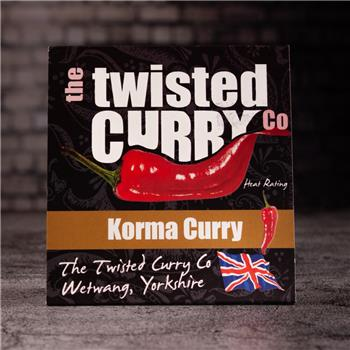 The Twisted Curry- Korma Curry