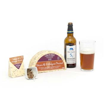 Cheese Croome Hobsons Ale & Wholegrain Mustard