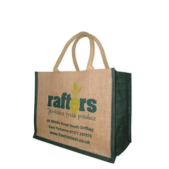 Rafters Hessian Bag