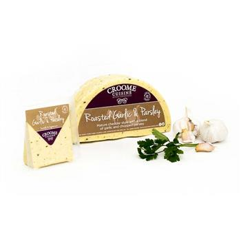 Cheese Croome Roasted Garlic & Parsley