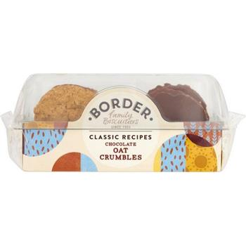 Border Chocolate Oat Crumbles Biscuits