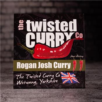 The Twisted Curry- Rogan Josh Curry