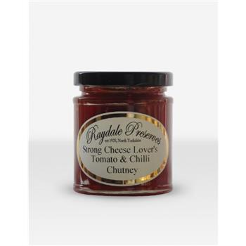 Raydale Strong Cheese Lovers Tomato & Chilli Chutney