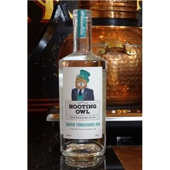 Hooting Owl South Yorkshire Gin 70cl