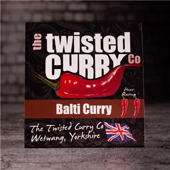 The Twisted Curry- Balti Curry