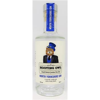 Hooting Owl North Yorkshire Gin 20cl