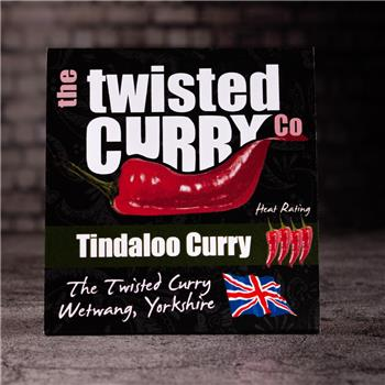 The Twisted Curry- Tindaloo Curry