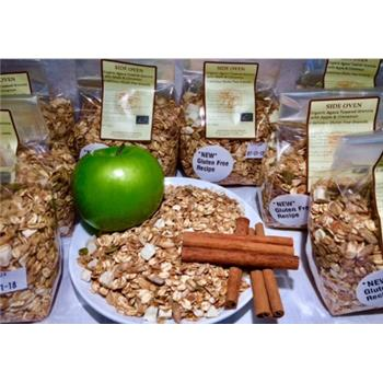 Granola Agave Toasted With Apple & Cinnamon Organic &  Gluten Free