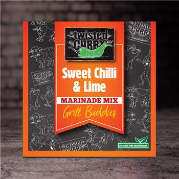 The Twisted Curry - Marinade Mix Sweet Chilli & Lime