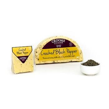 Cheese Croome Cracked Black Pepper